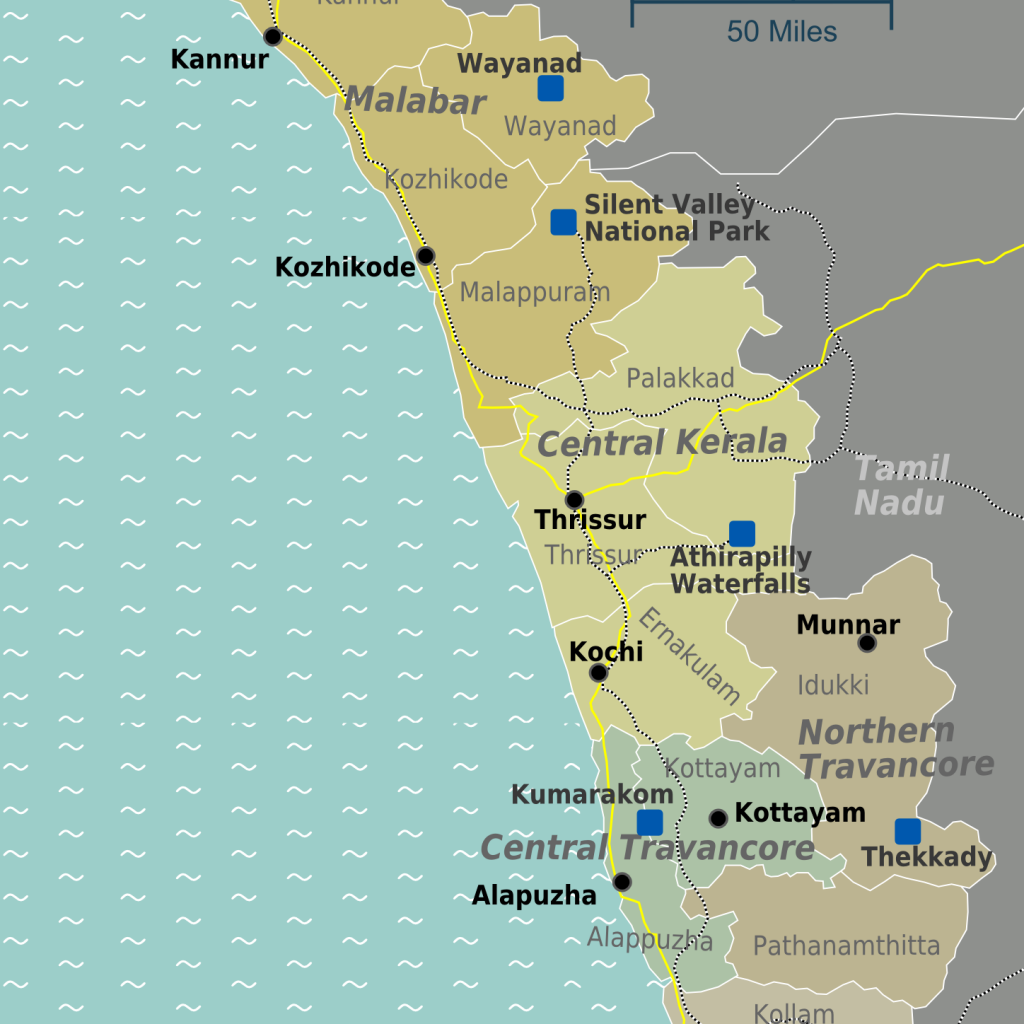 KeralaRegions